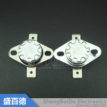 5pcs/lot KSD301 10A250V 40-110 Degrees C (N.O.) Normally Open Temperature Switch Thermostat(China)