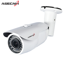 New CCTV AHD Security Camera Auto Zoom 2.8~12mm Lens Varifocal Outdoor Waterproof Bullet Surveillance Infrared Night Vision(China)