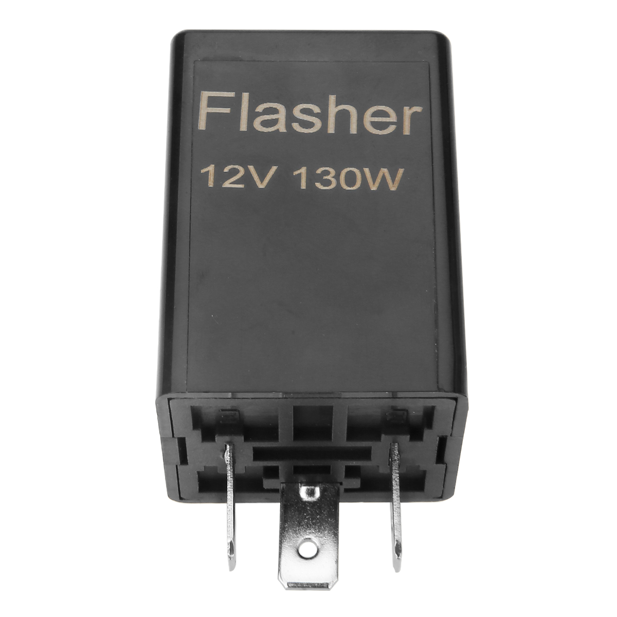 12V CF13 3 Pin Flasher Relays Universial Blink Flasher Relay Strobe For Car Motorcycle LED Turn Signal Lamp