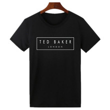 Ted Baker London Letters T Shirt Women Cotton Short Sleeve Tee Shirt Homme Hispter Summer Tumblr Woman Tshirt Top