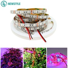5m SMD5050 Grow LED Plant Grow Light DC12V Red Blue 3:1 4:1 5:1 for Greenhouse Hydroponic Plant LED Strip Free Shipping