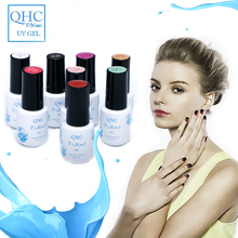 UV Nail Gel Base Top Coat UV LED Lamp Nail Polish Gel Nail Art Design Long Lasting New Bright Colorful 60 Colors Manicure Tool