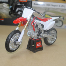 Brand New JOYCITY 1/12 Scale The Paris Dakar Rally HONDA CRF 250 Diecast Metal Motorcycle Model Toy For Gift/Collection(China)