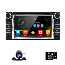 Crazy Salse Double 2 Din Car DVD Player for for TOYOTA CELICA MR2 4RUNNER Old Corolla Camry Prado RAV4 Free Camera