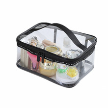 3Size PVC Transparent Cosmetic Bags Women's travel Waterproof Clear Wash Organizer Pouch Beauty Makeup Case Accessories Supplies
