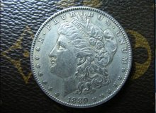 1889 -CC morgan dollar silver coin(China)