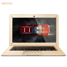 Amoudo 4GB RAM+64GB SSD+500GB HDD 14inch 1920*1080 FHD Windows 7/10 System Quad Core Ultrathin Laptop Notebook Computer(China)