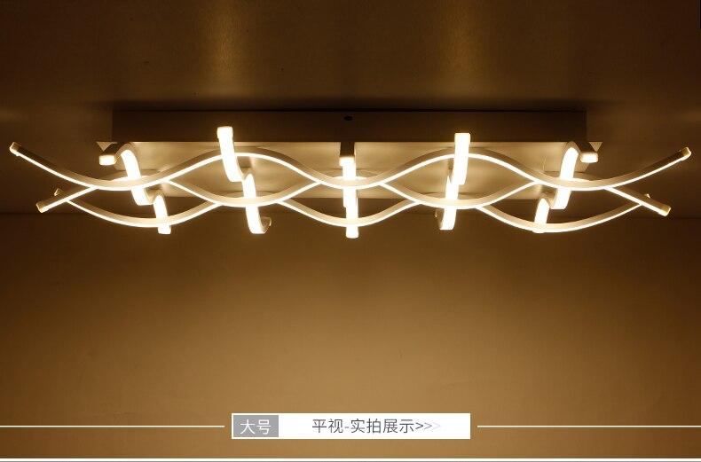 Plafoniere Led 150 Cm : Großhandel rechteck acryl moderne led deckenleuchten für