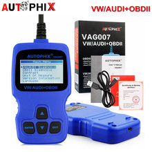 VAG Diagnostic Scanner Autophix VAG007 for Audi VW Seat Skoda Fault Code Reader ABS Airbag SRS Oil Service Reset Diagnostic Tool