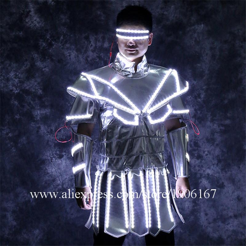 Led luminous stage dance wear8