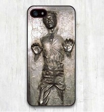 Star Wars Han Solo Frozen in Carbonite Cool Print Hard Cover for iphone SE 4 4S 5 5S 5C 6 6S 6Plus 7 7Plus R2D2 Phone Cases
