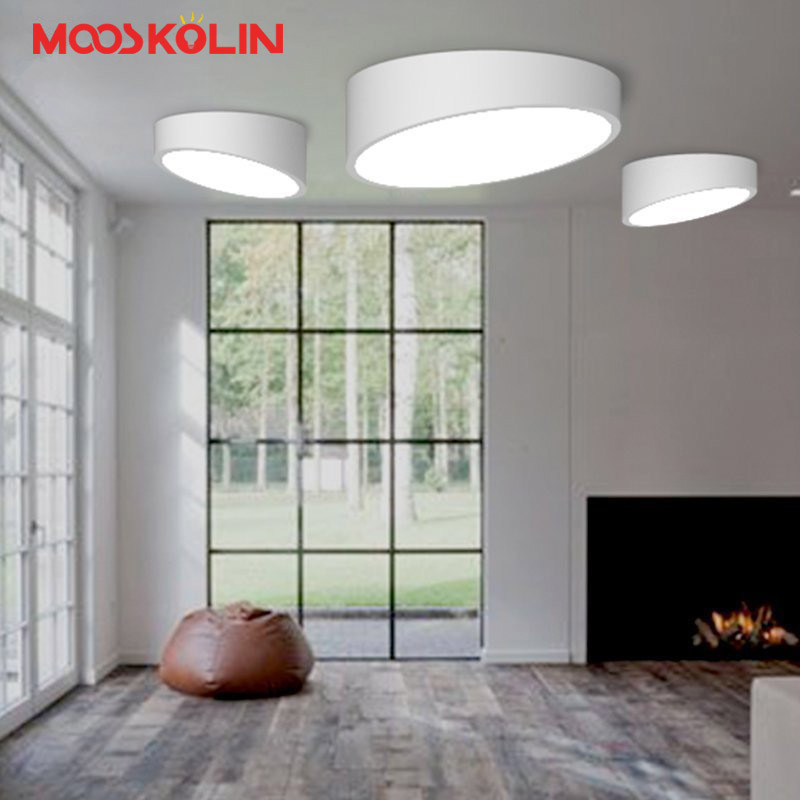 Modern Led Ceiling Lights For Indoor Lighting plafon led Round Ceiling Lamp Fixture For Living Room Bedroom Study luminaria teto<br>