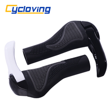 Cycloving Bicycle Handlebar Bike handle Bar Durable Anti-slip Rubber Aluminum Alloy Integrated Mountain bicycle accessories(China)