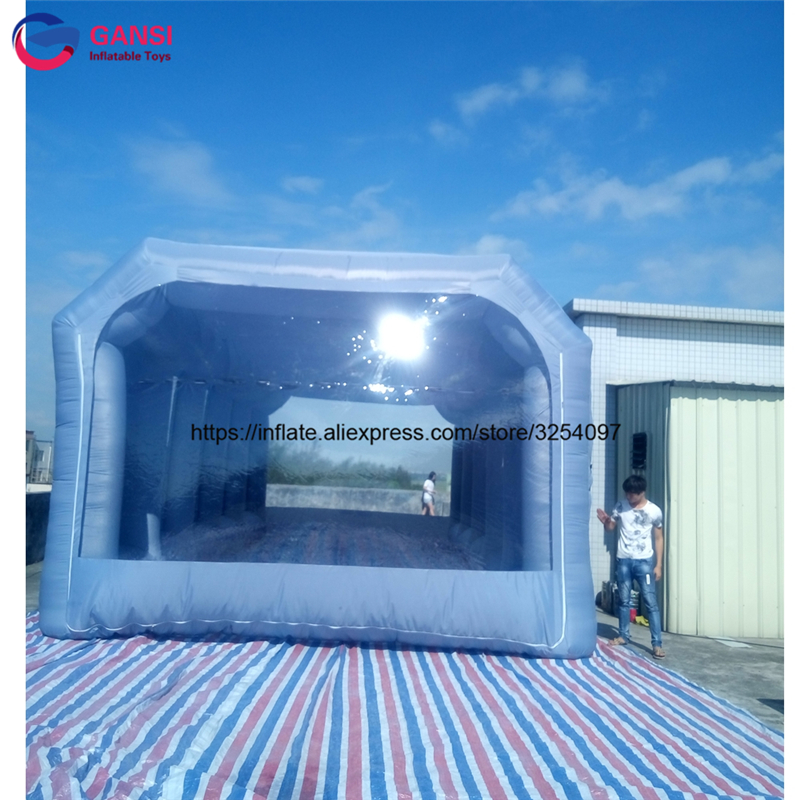 inflatable paint spray booth55