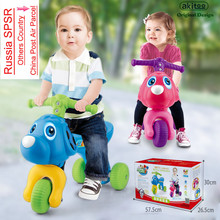 akitoo Kindergarten children's toys precocious cartoon children's walker baby scooter yo car  Cars For Kids To Ride