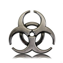 COOL Biochemical crisis Resident Evil umbrella Sticker metal Emblem Badge car styling Auto body rear trunk decoration side Decal