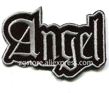 Hot Selling ! Embroidery Punk Rock Patches ANGEL Patches Iron on 7.5cm X5cm EP446