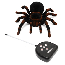 New Arrival Fidget Toys Hot Sale Realistic RC Spider  Remote Control 11'' 4CH Scary Toy Prank Holiday Gift Brinquedos Model