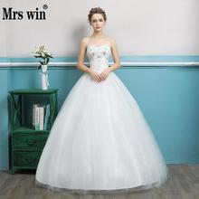 Buy Wedding Dress Sexy Strapless Classic Bling Bling Lace Ball Gown Elegant Princess Bridal Gown Vestido De Novias F for $46.80 in AliExpress store