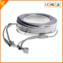 10M/20M/30M Optional CCTV Extension Ethernet Cable RJ45 + DC 12V Power CCTV Network Lan Cable For NVR CCTV System IP Cameras