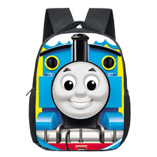 Children School Bags Boys Girls Cartoon Thomas Backpack Kids School Backpacks Book Bag(China)
