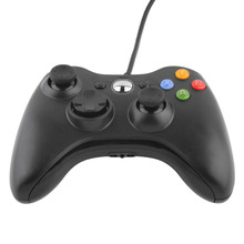 1pc USB Wired Joypad Gamepad Controller For Microsoft for Xbox Slim 360 for PC for Windows7 Joystick Game Controller(China)