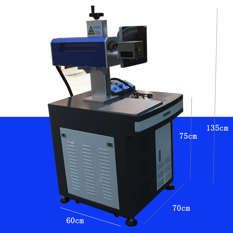 Leather laser marking machine
