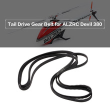 Tail Drive Gear Belt for ALZRC Devil 380 Fast SAB Goblin 380 RC Helicopter  Airplane Tail Belt RC Parts