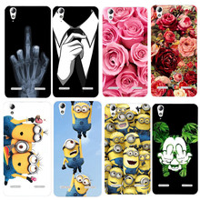 "Buy Lenovo A6010 Case 5.0"" Luxury Cartoon Soft TPU Back Shell Lenovo A6010 6010 Case Silicone Lenovo K3 Back Cover for $1.35 in AliExpress store"