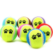 juguete para perros Pet Dog Cat Toy Vogue Tennis Balls Run Catch Throw Play Funny Chew Pets Toys 2016