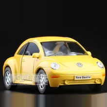 High Simulation Exquisite Collection Toys: KiNSMART Car Styling New Volkswagen Beetle 1:32 Alloy Diecast Car Model Fast&Fruious(China)