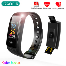 Buy itormis Smart Band Wristband Fitness Bracelet SmartBand Sports Pedemeter Heart rate tracker IP67 PK miband mi band 2 fitbits for $25.90 in AliExpress store