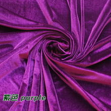 Purple Silk Velvet Fabric  Velour Fabric  Pleuche Fabric  Clothing Fabric  Evening Wear  Sports wear  Sold By The Yard