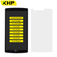 Premium KHP 0.3mm 9H Tempered Glass For LG Optimus G E973 E975 E977 V10 Nexus 5 G4 G4C G4S G5 G3 D855 Mini Screen Protector
