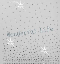 A quality Wonderful Life iron on rhinestone transfer designs shining spray star dot white clear crystal factory supply