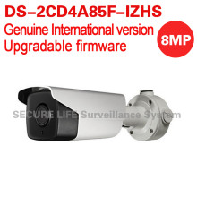 Free shipping English version DS-2CD4A85F-IZHS 4K bullet cctv camera POE Motorized lens with heater, audio, smart focus 50m IR