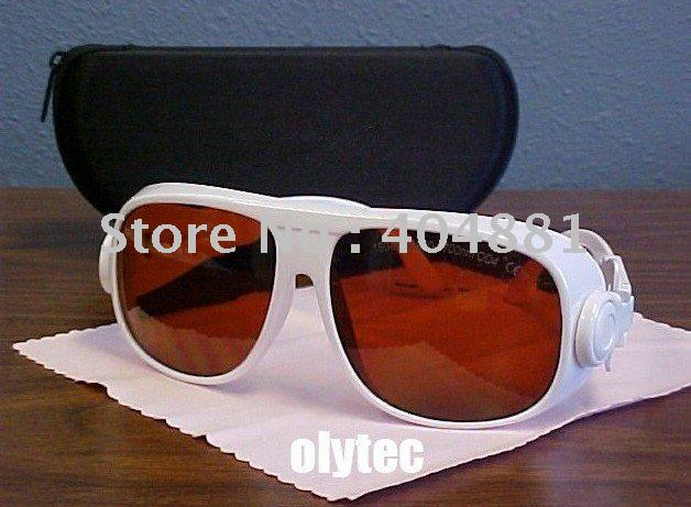 laser safety glasses (190-540nm&amp;900-1700nm. O.D  4+ CE )<br>