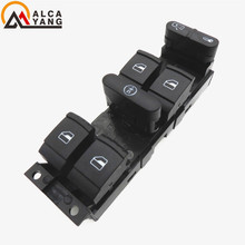High Quality Master Electronic Power Window Control Switch Button For SKODA FABIA Saloon Combi Praktik OCTAVIA SUPERB