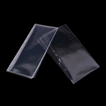 400PCS Banknote Protector Bag Plastic transparent Money Bill Sleeves Safe Collection Bags Cases(China)