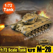 Magic Power Scale Model 1:72 Scale Tank Model US Army M-26 Pershing Heavy Tank Model 36601 Finished Static Tank Model Collection