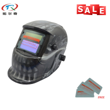 Glass Filters with Lithium Battery Industrial Safety Helmets Electronic Custom Auto Darkening Welding Helmet TRQ-HD24-2233FF(China)