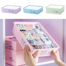 Fashion 3pcs/set Underwear containing box socks,underwear,bra storage box 31.5*23.5*24cm free shipping(China)