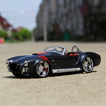 1965 Shelby Cobra 427 1:24 Maisto alloy car model metal diecast Ford Mustang Classic cars Roadster collection gift toy