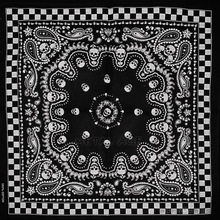 New Paisley Bandana Skull Bandanna Head Wear Hair Bands Scarf Neck Wrist Wrap(China)