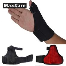 Black Hand Thumb Brace Guard Wrist Support Splint Stabiliser Sprain Arthritis Pain Relief Wristband For Right and left hands