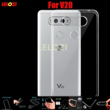 LELOZI TPU Clear Soft Transparent Silicone Capinha Capa Case Cover Coque Cove For LG V20 Protective Cheap High Best Fashion