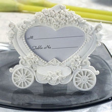 Wholesale Wedding Favors Party Gifts Valentine's Gifts Pumpkin Car Photo Holder 100PCS/LOT(China)