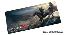 witcher mouse pad 900x400mm pad to mouse notbook computer mousepads Fashion gaming padmouse gamer to best keyboard mouse mat