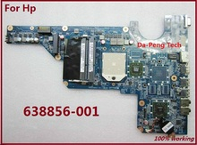 Free Shipping 638856-001 laptop Motherboard For Hp Pavilion G6 G4 G7 series Fully work & 100% Tested