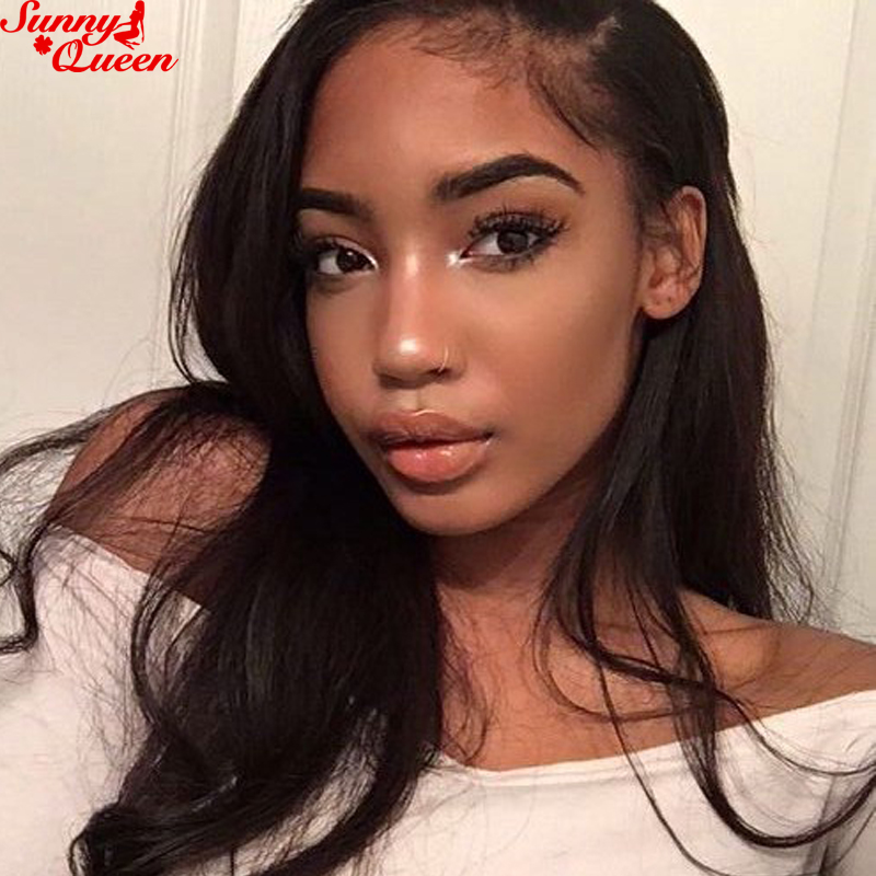 10-20 Lace Frontal Malaysian Straight 360 Lace Frontal Closure With Baby Hair Pre Plucked 360 Lace Virgin Hair Blenched Knots<br><br>Aliexpress